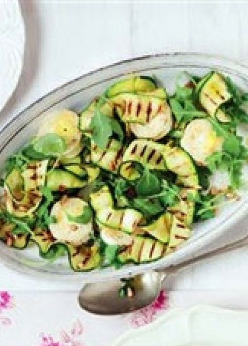 ROCKET AND ZUCCHINI SALAD