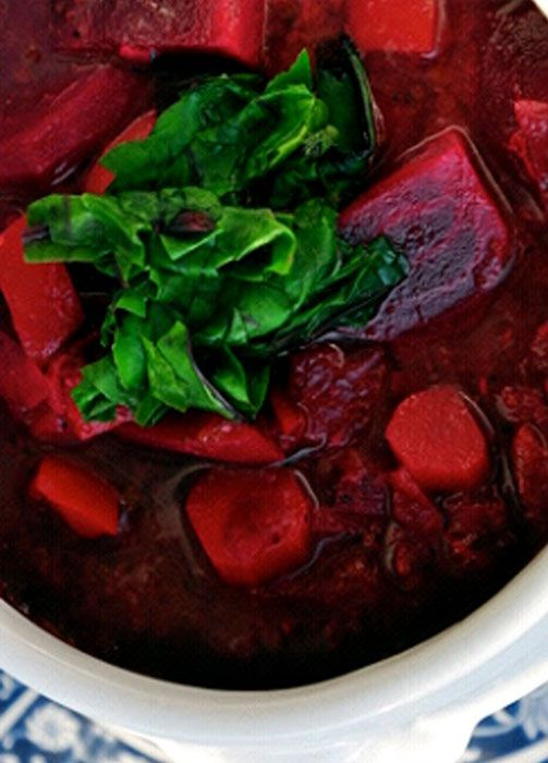 CLEANSING BEET SOUP
